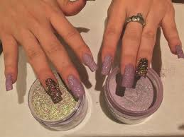 how to apply colored dip powders technique nails magazine