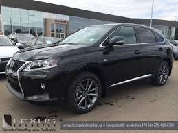 lexus rx 350 canada 2015 lexus rx 350 awd f sport package review black on