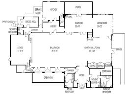 wedding floor plans clubhouse floor plan thursday club san diego wedding venue