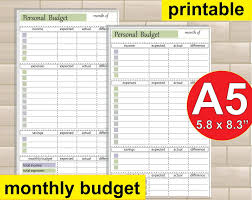 Monthly Spreadsheet Monthly Expense Tracker Spreadsheet Wolfskinmall