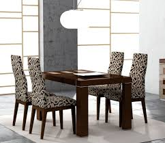 fresh design dining table and 4 chairs amazing chic dining room