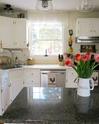 Changing Countertops In Kitchen The Long Awaited Home Small Home Living Kitchen