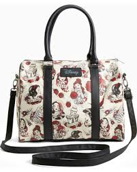 bargains on disney princess tattoo satchel bag