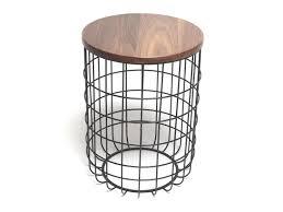 wire high side table by dare studio design sean dare