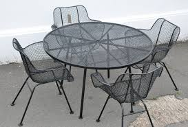 Mesh Patio Table Wire Outdoor Furniture Contemporary Mesh Patio Table 16