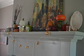 tips for decorating your mantle for fall on a budget my big fat