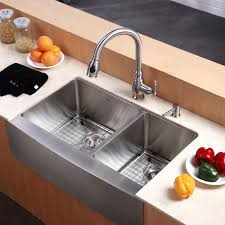 Kitchen Sink And Faucet Combo by Kitchen Kraus Sink For Outstanding Quality And Durability