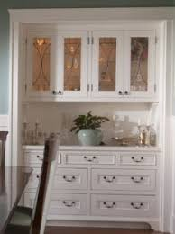Dining Room Builtin Buffet Tray Ceiling Pottery Barn Paxton - Hutch for dining room
