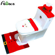 Christmas Bathroom Rugs Popular Toilet Tank Sets Buy Cheap Toilet Tank Sets Lots From