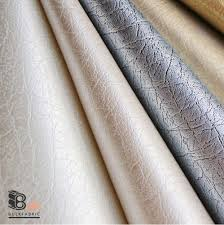 Bulk Upholstery Fabric Wholesale 20 Yards Roll Smooth Faux Leather Fabric Lustrous
