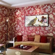 Wallpaper In Home Decor Online Get Cheap Rouge Noir Papier Peint Aliexpress Com Alibaba