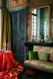 gypsy living room noirblancdesign a place to dream of via la maison pierre frey
