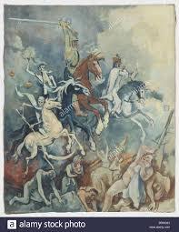 otto schubert 1892 1972 the four horsemen of the apocalypse