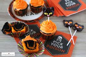 halloween cupcakes easy tie dyed cake recipe