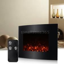 wall mounted fireplace heater wall decoration ideas