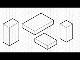 how to draw an isometric crate using grid paper by fallibroome