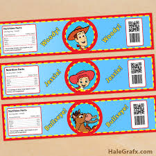 woody jessie bottle labels free printable toy story woody