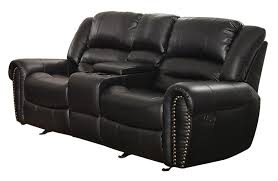 home theater loveseat amazon com homelegance 9668blk 2 double glider reclining loveseat