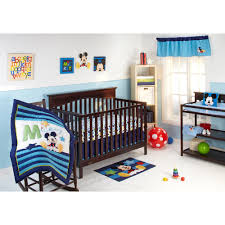 Mickey Mouse Crib Bedding Sets Baby Mickey Mouse My Friend Mickey 4 Pc Crib Bedding Set