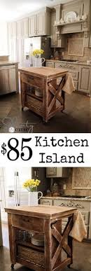 cheap kitchen island ideas 15 easy diy kitchen islands that you can build on a budget diy