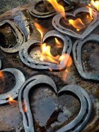 heart shaped horseshoes horseshoe letter and napkin holder horseshoe letters napkin