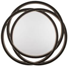 Round Mirrors Buy Rv Astley Round Mirror Black Gloss Online Cfs Uk