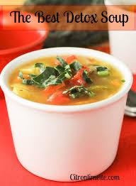 cuisine detox detox soup citronlimette