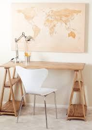 fabriquer une table pliante fabriquer un bureau soi même u2013 22 idées inspirantes