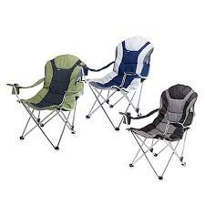 picnic time reclining camping chair bed bath u0026 beyond