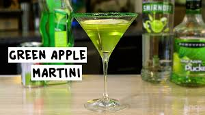 sour apple martini green apple martini youtube