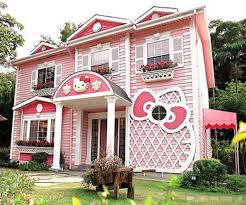love pink hello kitty house design ideas home furniture