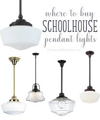 Buy Light Fixture Where To Buy Schoolhouse Pendant Lights Christinas Adventures