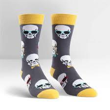 halloween socks halloween men u0027s holiday socks sock it to me