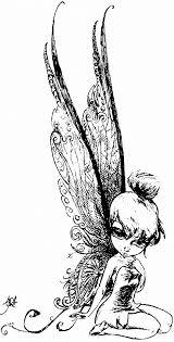 75 tinkerbell images drawings disney fairies