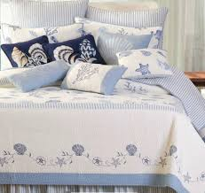 Seashell Duvet Cover By The Sea Blue Seashell Quilt