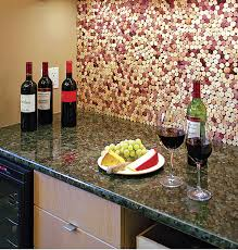 Cork Backsplash Tiles by Wine Lover U0027s Backsplash Fine Homebuilding