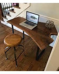 Modern Walnut Desk New Savings On Your Custom Black Walnut Desk Live Edge Desk