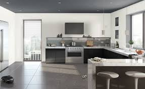 no cabinets in kitchen kitchen design modern black and white kitchen no upper cabinets