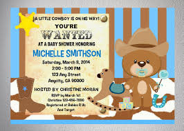 western themed baby shower invitations invitations ideas