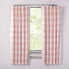 Pink And Grey Nursery Curtains Curtain Sewing Nursery Blackout Curtainsblackout Curtains For