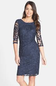 adrianna papell ruched lace sheath dress regular u0026 petite