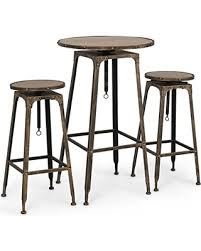 High Bar Table And Stools Cyber Monday Savings Belleze Adjustable Pub Table And Stools