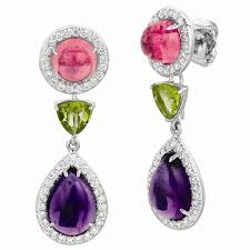 detachable earrings gemveto detachable cabochon drop earrings can t resist