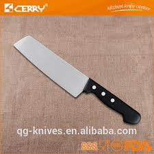 high quality 3cr13 stainless steel japanese chef knife of plistic
