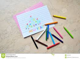 colored writing paper small colored pencils a drawing stock photography image 36182292 small colored pencils a drawing stock photography