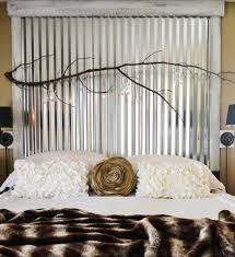 down to earth style nature accents an industrial style bedroom