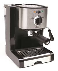 Coffee Grinder Espresso Machine Amazon Com Capresso Ec100 Pump Espresso And Cappuccino Machine