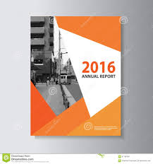 Report Cover Page Templates vector leaflet brochure flyer template a4 size design annual