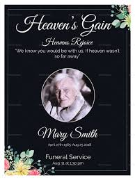 funeral invitation template eulogy funeral invitation card design template in word psd publisher