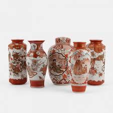 Japanese Kutani Vases Japanese Kutani Vase Vinterior